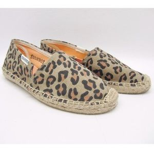 Cheetah Print Soludos